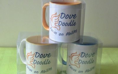 Introducing Our New Product: Dove Doodle Ceramic Mugs