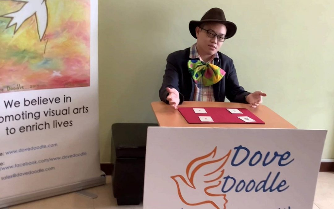 Easy Magic  Tricks With Poker Cards – A Dove Doodle Production